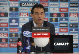 """Luis García: """"Hay que seguir y solventar la permanencia"""""""