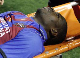 Diop no recuerda nada de Osasuna tras el golpe sufrido