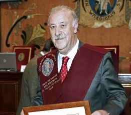 Vicente del Bosque: &quot;Ojal la Seleccin juegue en Navarra&quot;