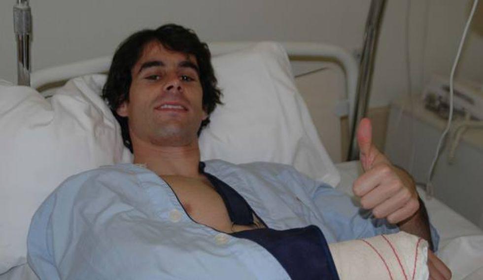Tiago ha sido operado con éxito de su fractura de cúbito