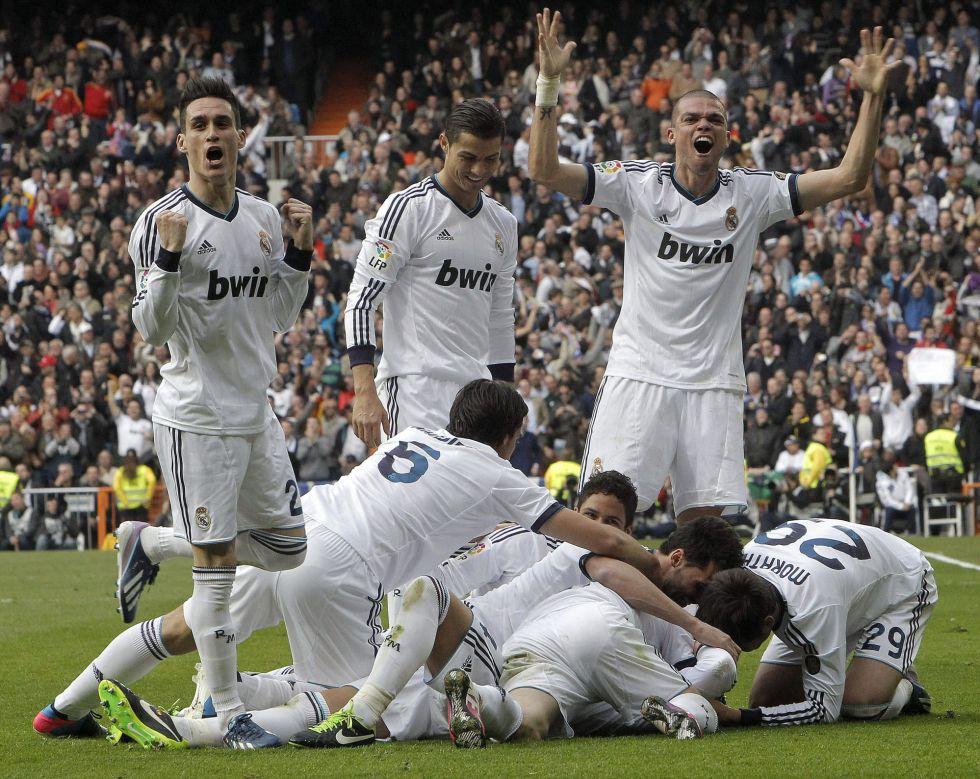 El Madrid golpea de nuevo