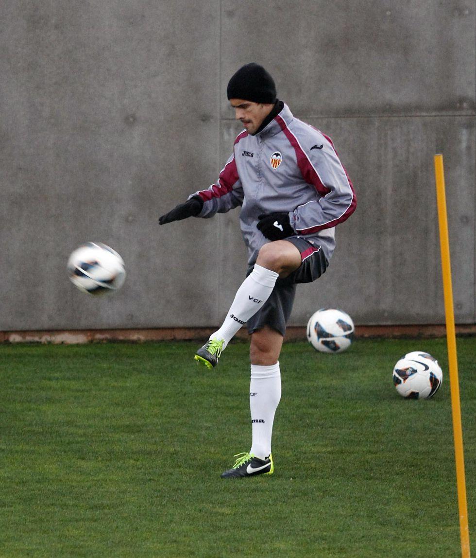 Ricardo Costa sigue siendo duda ante el PSG