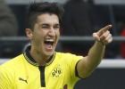 El Dortmund arrasa al Friburgo con un doblete de Sahin