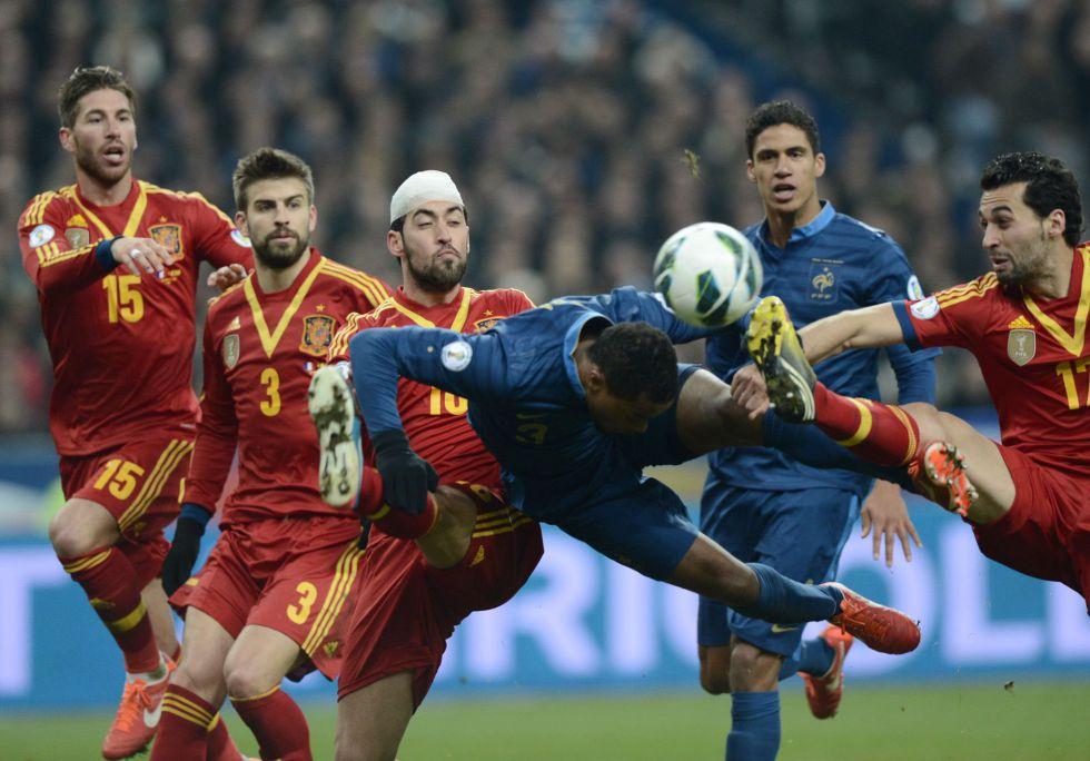 El Francia-España tuvo una cuota de pantalla del 52,5% - AS.com