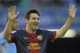 Messi marca en Vigo y cumple una vuelta entera anotando