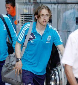 El Madrid aterrizó en Dortmund con Modric en la convocatoria