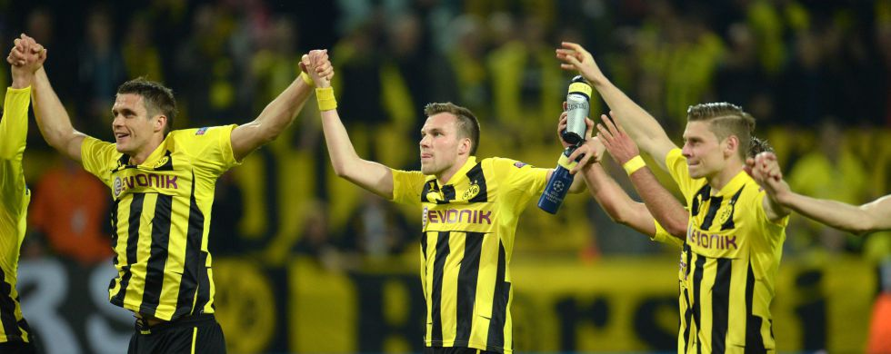 El Borussia sube en bolsa tras la goleada al Real Madrid