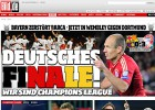 La prensa se rinde al Bayern: &quot;El Barcelona, humillado&quot;