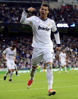 Did Cristiano Ronaldo aim a F*** you at Jose Mourinho after 1st goal v Malaga?