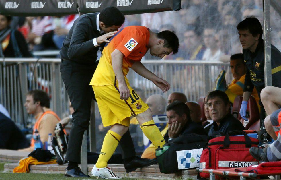 Messi planta a los médicos del club y no se hace pruebas