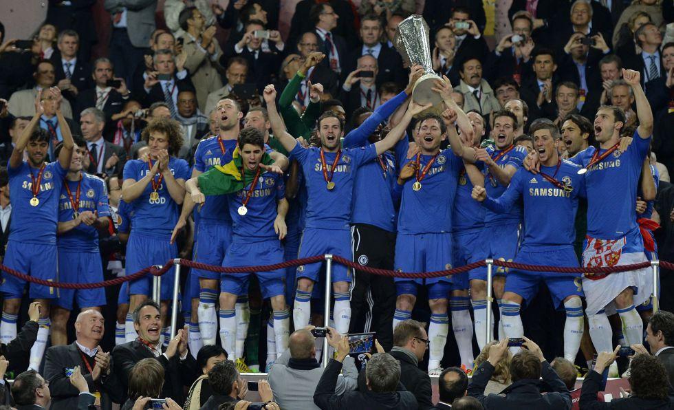 Torres e Ivanovic en el 93' hacen campeón al Chelsea de Benítez - AS.com