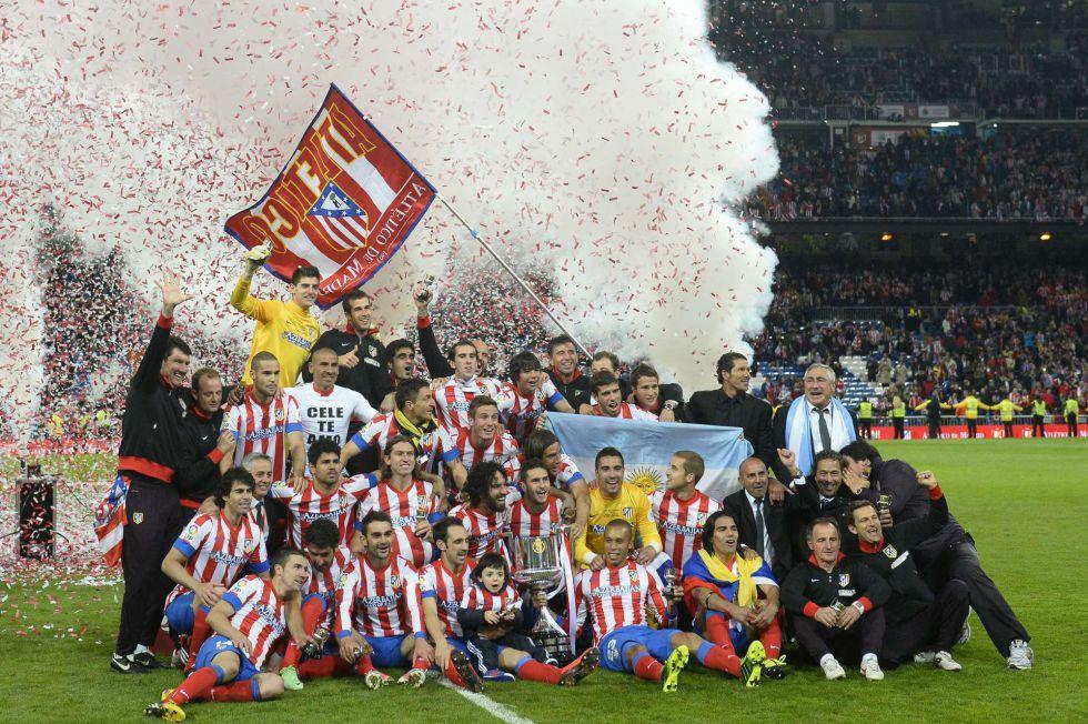 El Atlético reina en la Copa