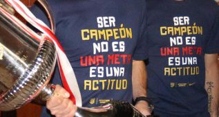 Camiseta oficial: &quot;Ser campen no es una meta, es una actitud&quot;