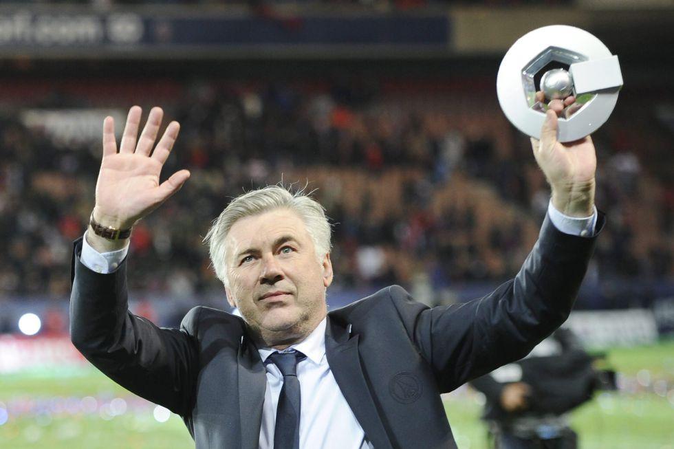 Carlo Ancelotti ha comunicado al PSG que no va a continuar - AS.com