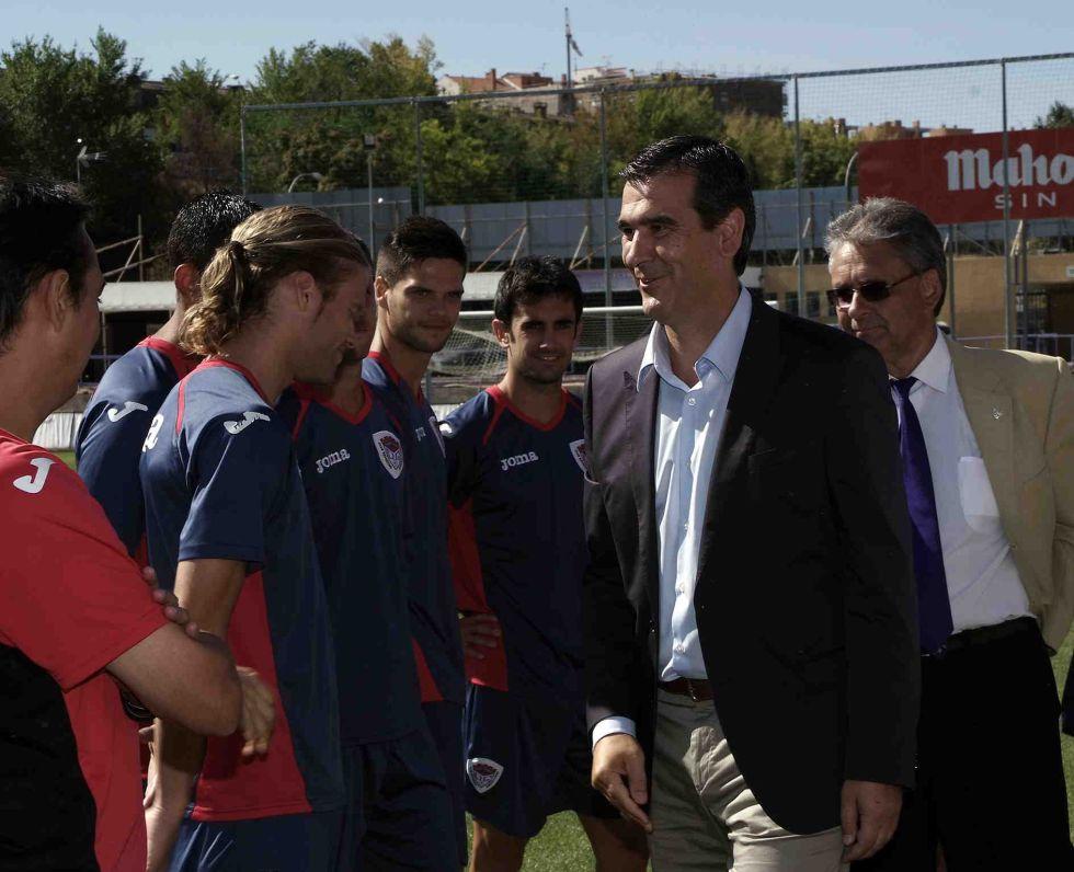 """El alcalde de Guadalajara: """"Es un agravio respecto a otros clubes"""""""