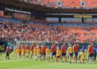 Las mejores imágenes del partido amistoso España - Haití