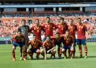 Cuatro jugadores de España fueron capitanes ante Haití