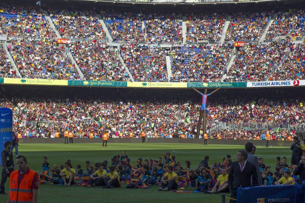 El Barça hará referéndum para decidir si hace un nuevo estadio
