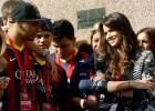 El Barcelona pagaría las visitas de los amigos de Neymar