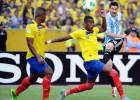 Argentina sobrevive a Quito y está a un paso de clasificarse