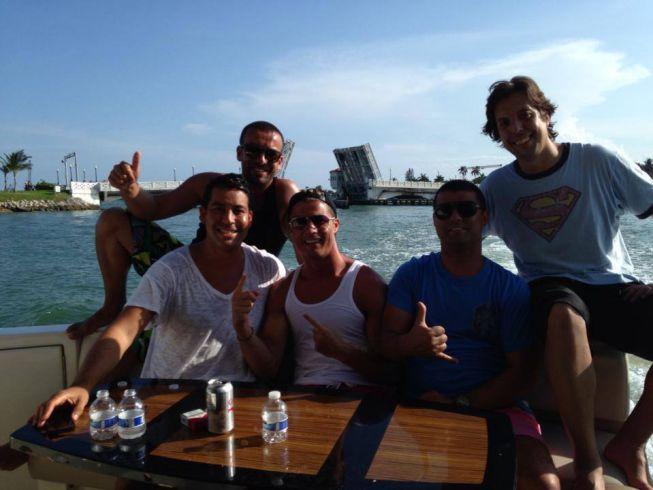 Cristiano Ronaldo disfruta de sus vacaciones con amigos