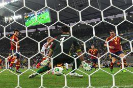 España, récord en partido FIFA y récord de goles en Maracaná
