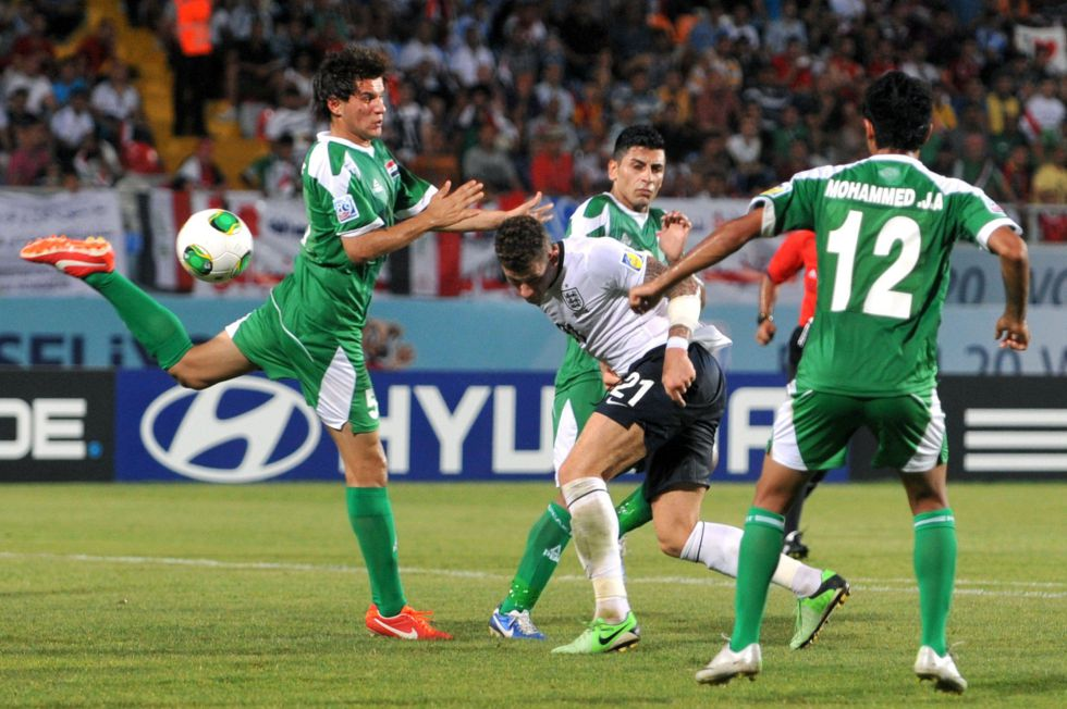 Un gol de Irak en el 93' priva a Inglaterra de los tres puntos