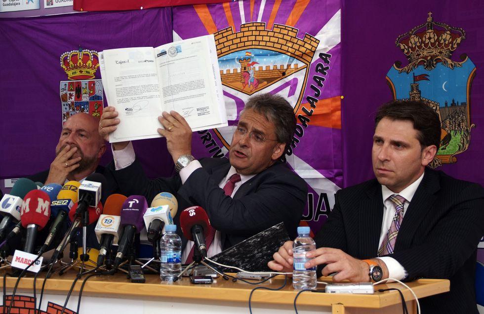 La LFP desestima el recurso del Guadalajara contra su descenso