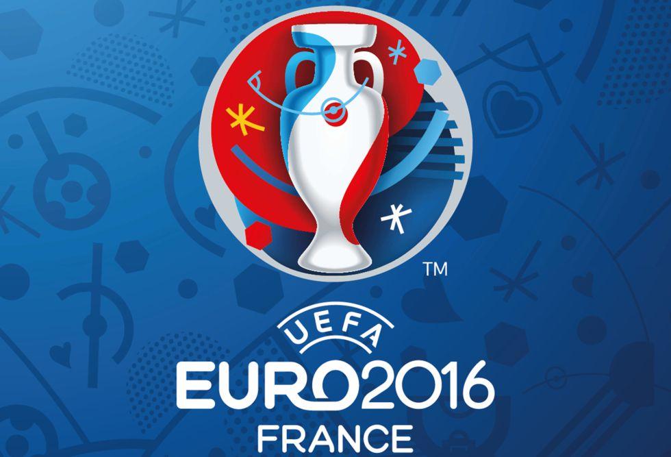 La UEFA desvela en París su logo para la Eurocopa de 2016