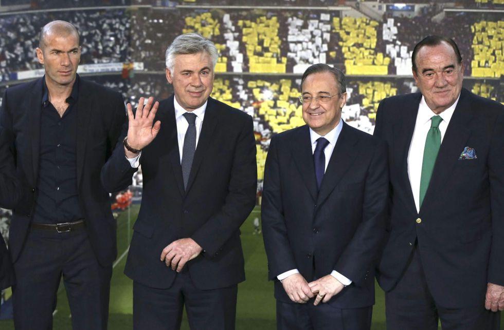 Zidane será el segundo entrenador del Real Madrid - AS.com