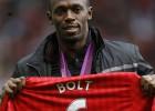 Usain Bolt jugará con el United en un partido ante el Sevilla