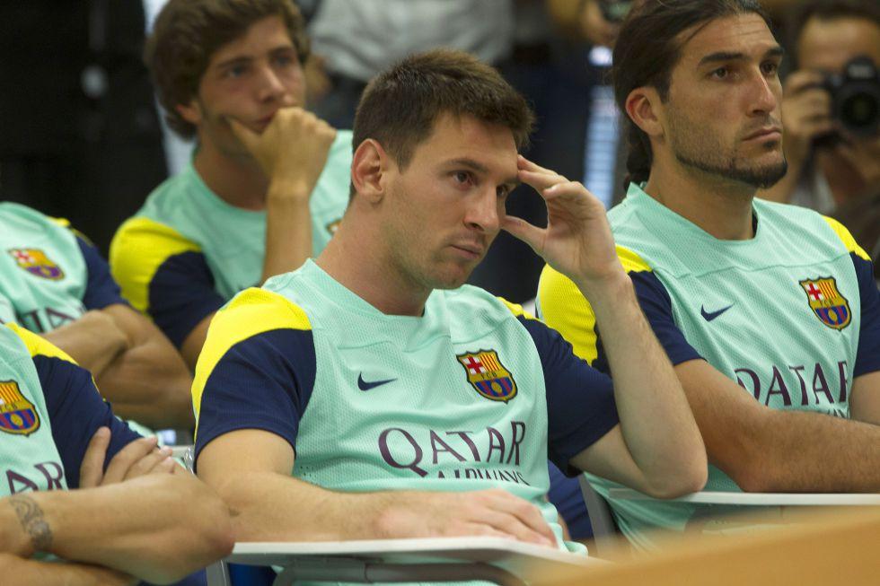 "Messi, hace un año: ""El Tata es un gran técnico, me gusta"" - AS.com"