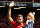 El Liverpool vence 2-0 al Olympiacos de Roberto