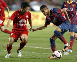El promotor del Tailandia-Barça dio 25.000 euros a los asiáticos