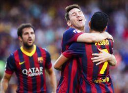 El Barça arrolla e impresiona