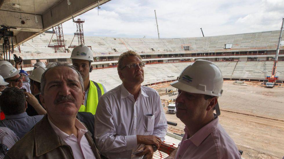 La FIFA confirma que el estadio de Manaos estará listo