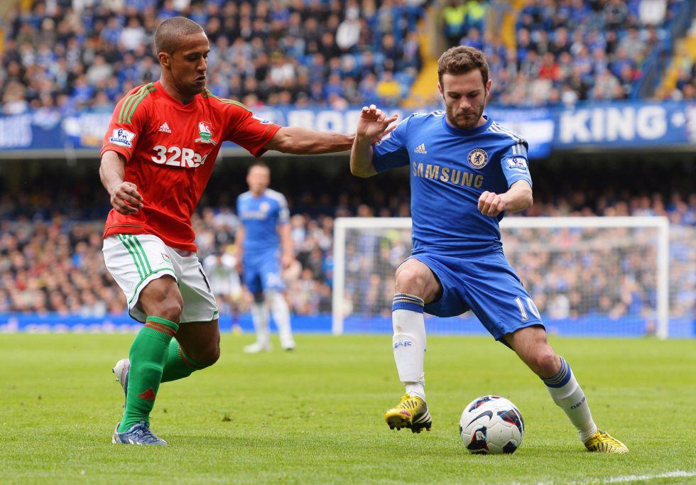 El Atlético ha pedido al Chelsea la cesión de Juan Mata