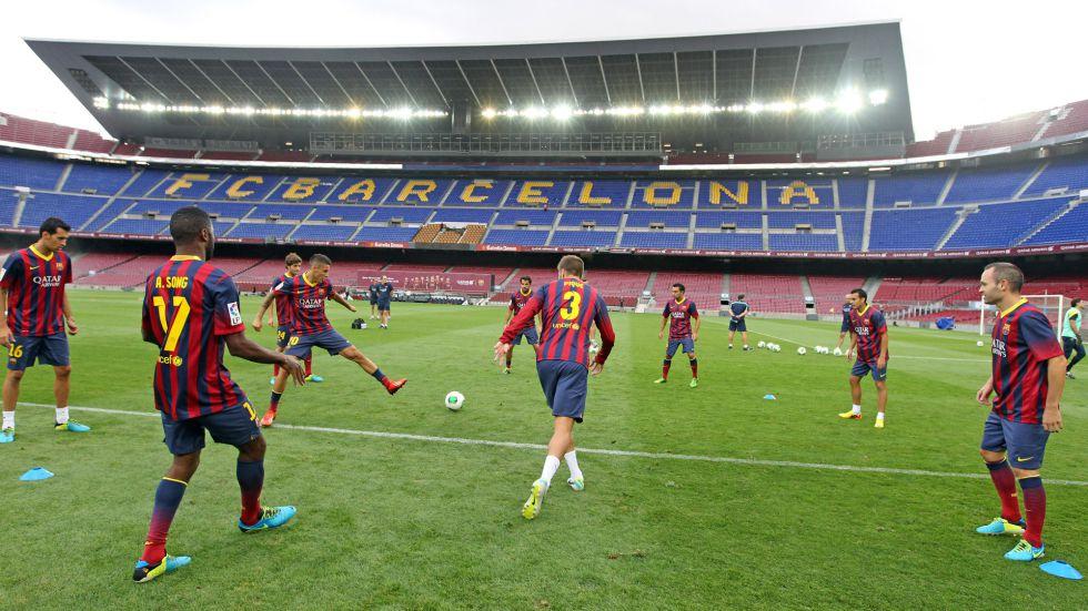 Messi y Neymar contra los especialistas en finales