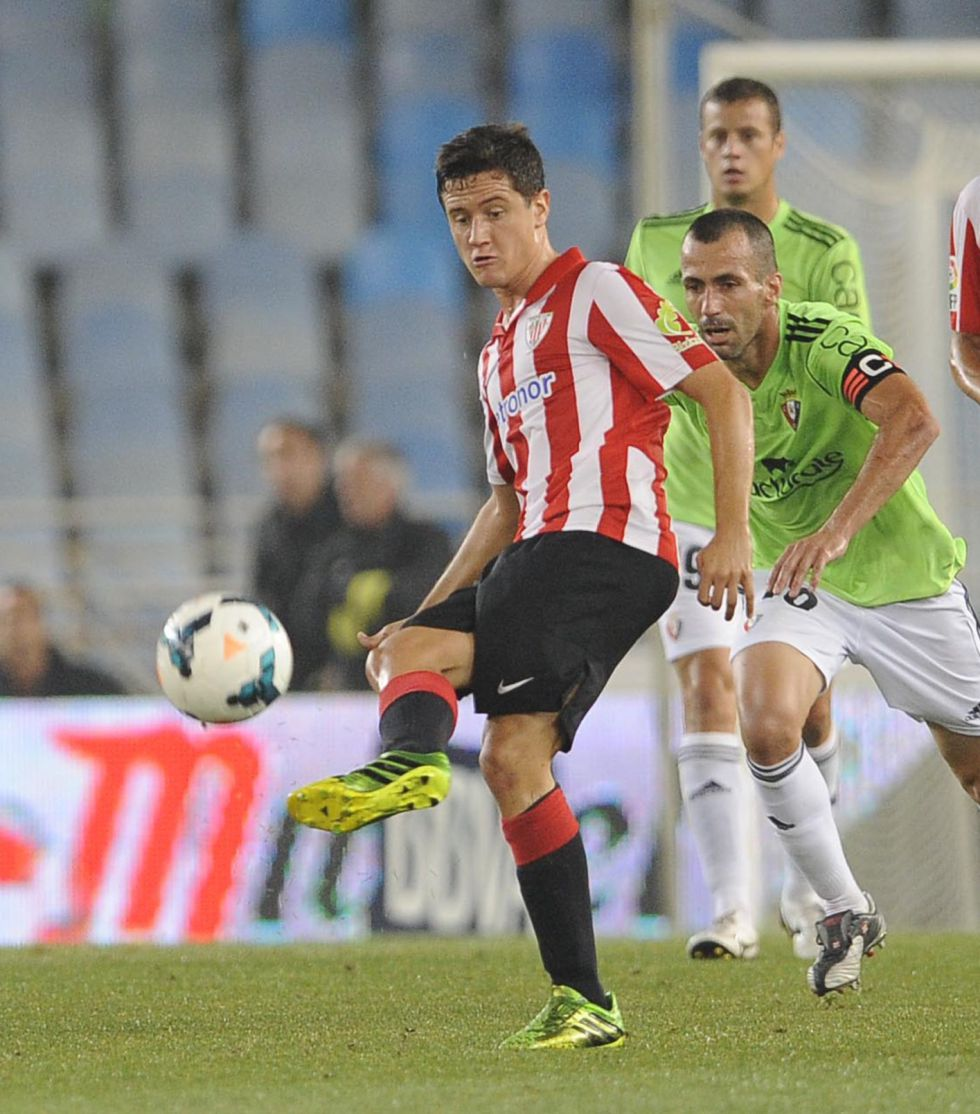 Urrutia confirma la oferta del United por Ander Herrera