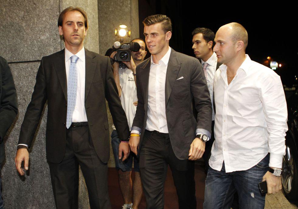 Bale viajó a Madrid para ser presentado hoy a las 13:00 horas - AS.com