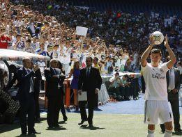 Gareth Bale reunió a casi 30.000 fans en el Santiago Bernabéu