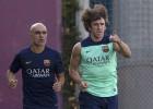 El retorno de Carles Puyol sufre un nuevo contratiempo