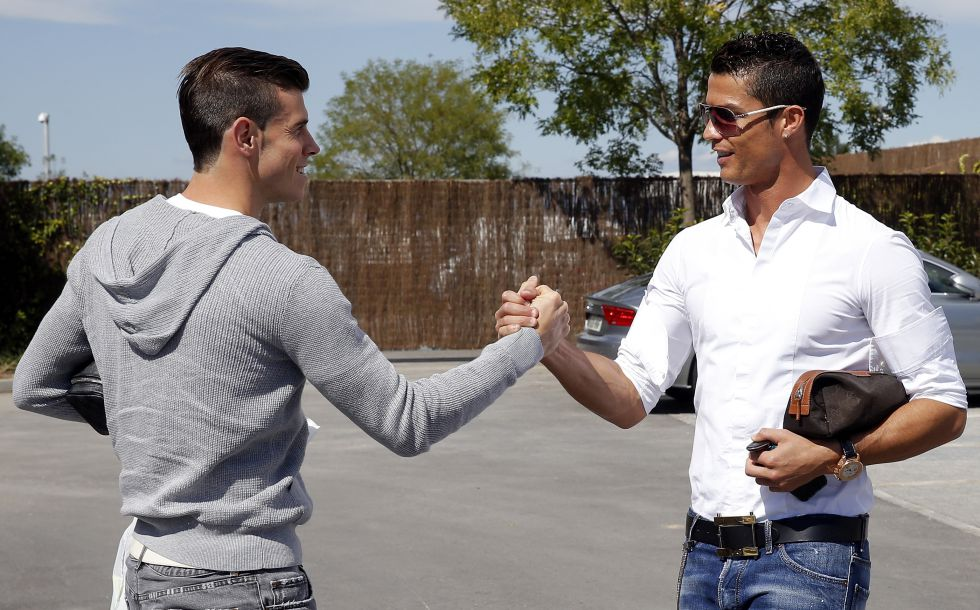 Gareth Bale ya es uno más de la familia madridista en Valdebebas - AS.com