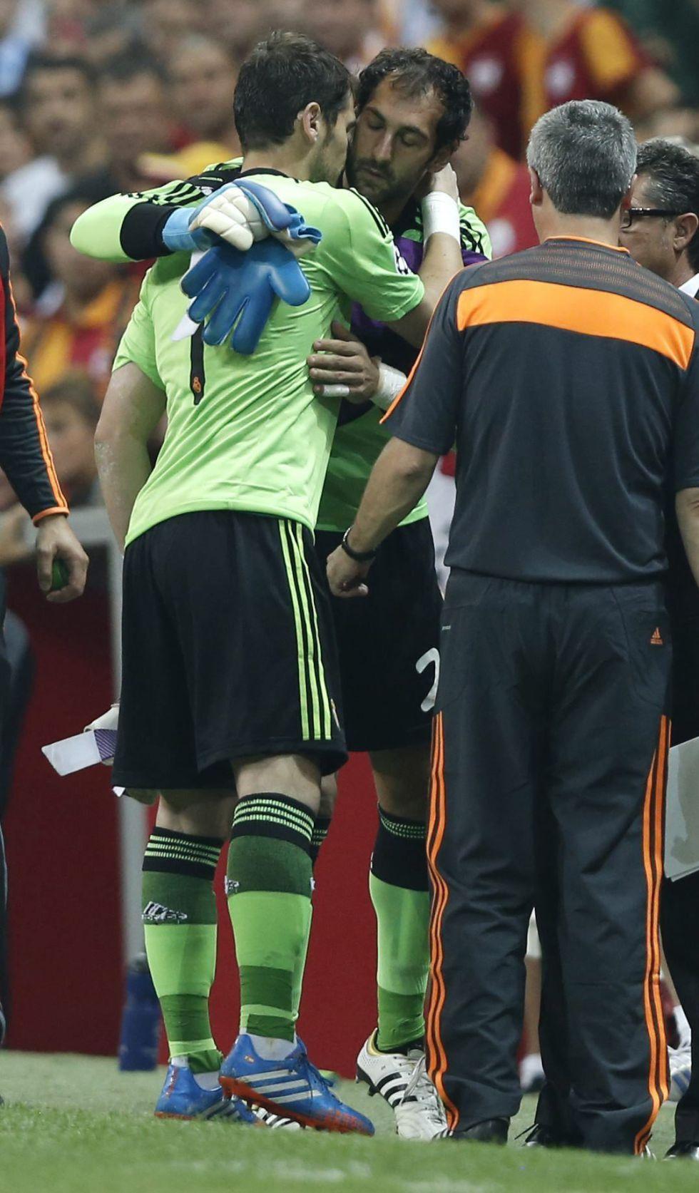 """Diego: """"Estamos fastidiados por la lesión de un compañero"""""""