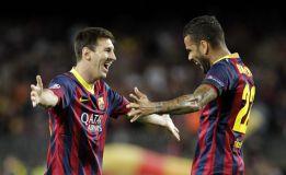 Messi es un tiro y Víctor, un muro