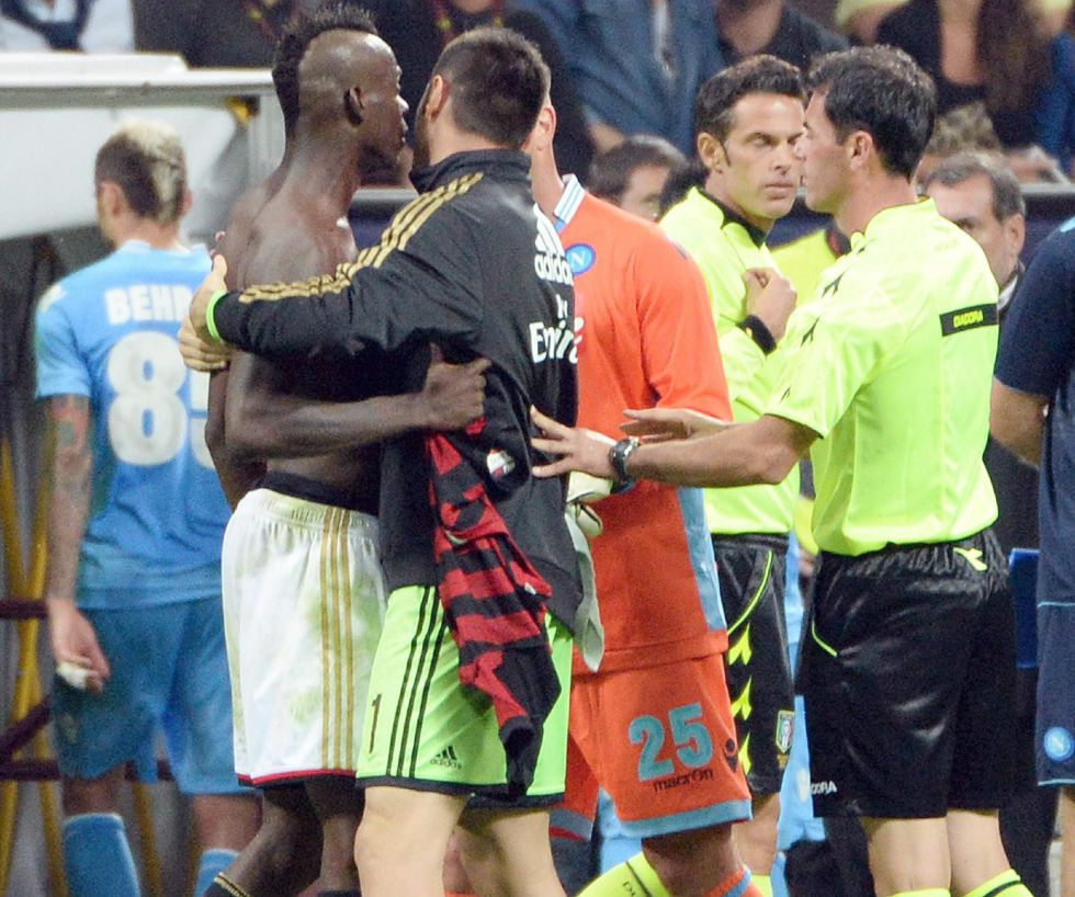 Balotelli: 3 partidos de sanción por amenazas al árbitro - AS.com