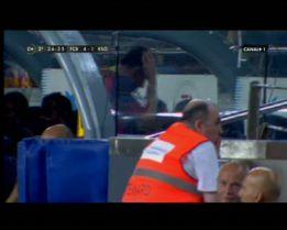 A Messi le molestó su cambio, gesto incluido a Martino