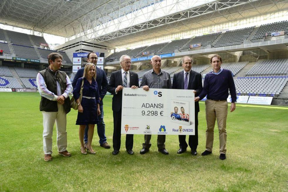 Oviedo y Sporting de Gijón, unidos con un fin solidario