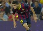 Bartra se asienta y acaba con el debate del central en el Barça
