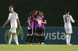 Un penalti polémico le quita dos puntos al Real Madrid Castilla